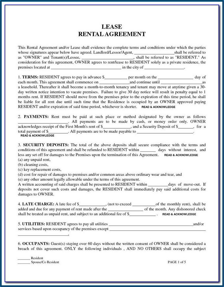 Free Commercial Lease Agreement Template Download Ireland