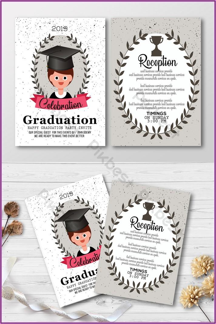 Free Download Graduation Invitation Templates