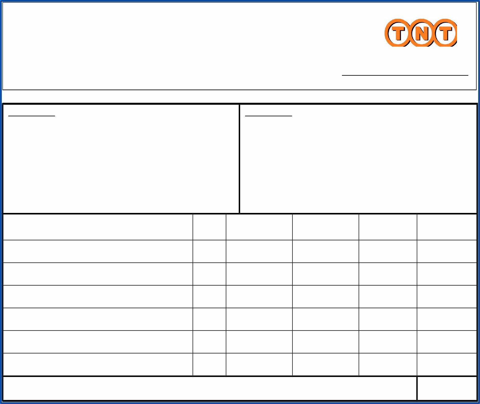 Free Proforma Invoice Template Download