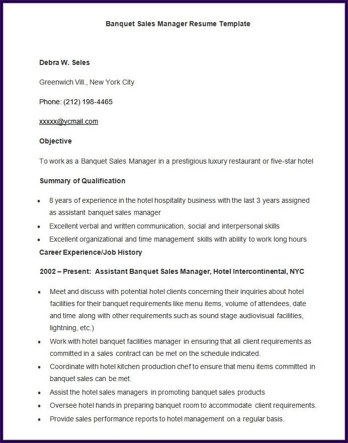 Free Sample Resume Templates Microsoft Word
