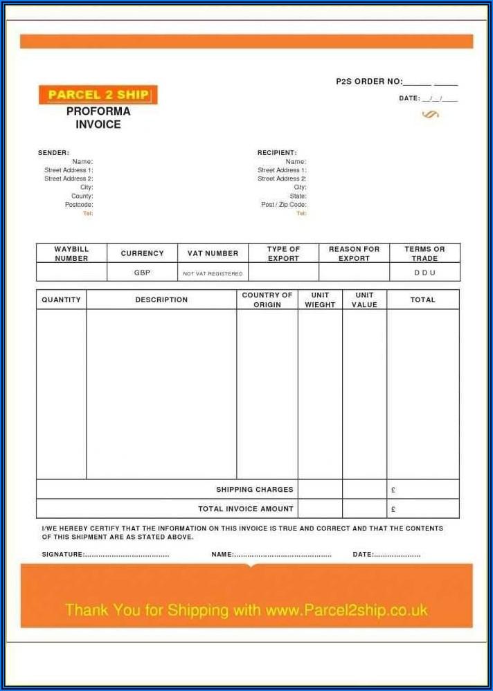 Free Subcontractor Invoice Template