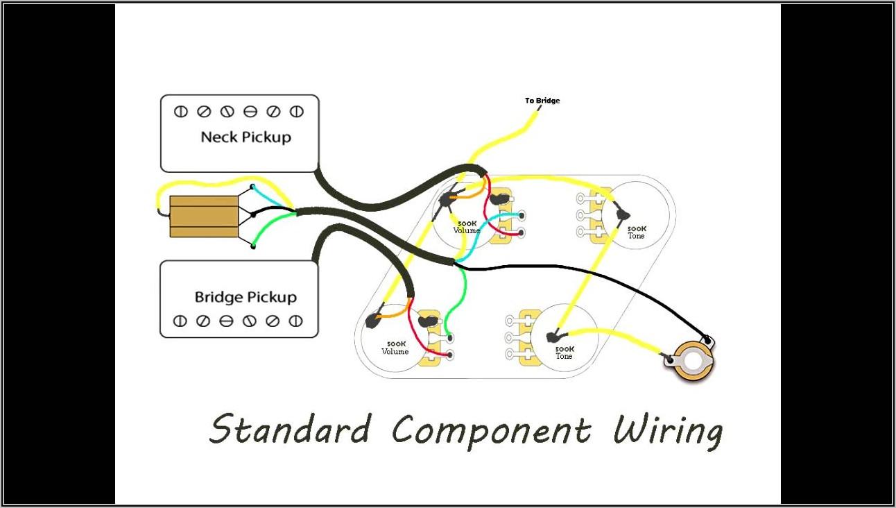 Gibson Les Paul Wiring Diagrams
