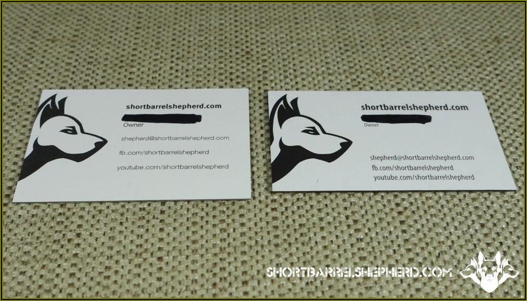 Gotprint Business Card Review