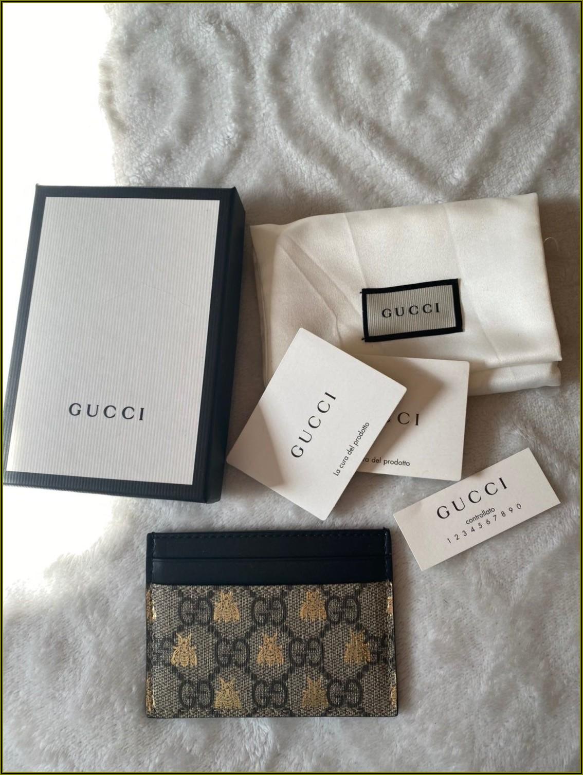 Gucci Women's Business Card Holder