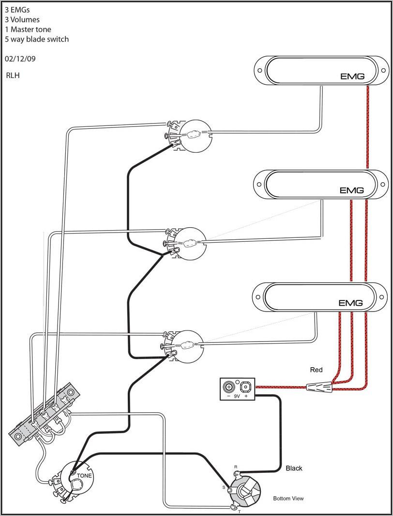 Guitar Wiring Diagram Single Pickup