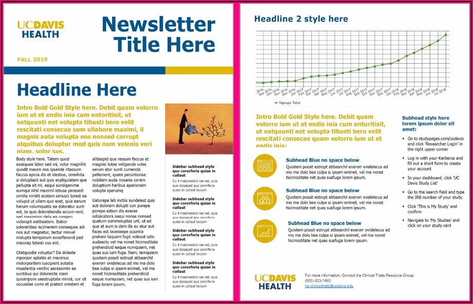 Healthcare Newsletter Templates Microsoft Word