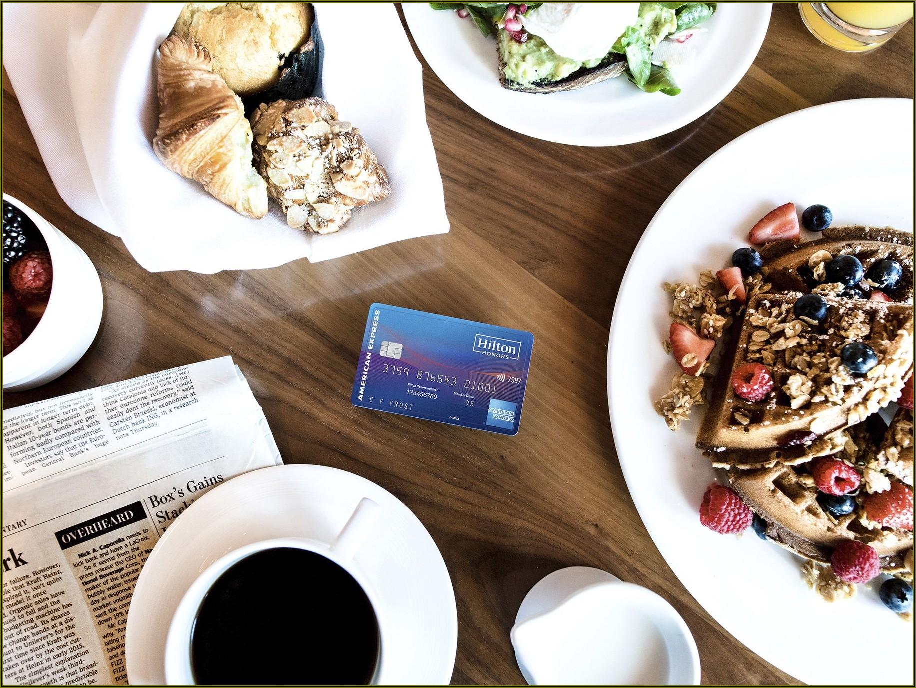 Hilton Business Card Review