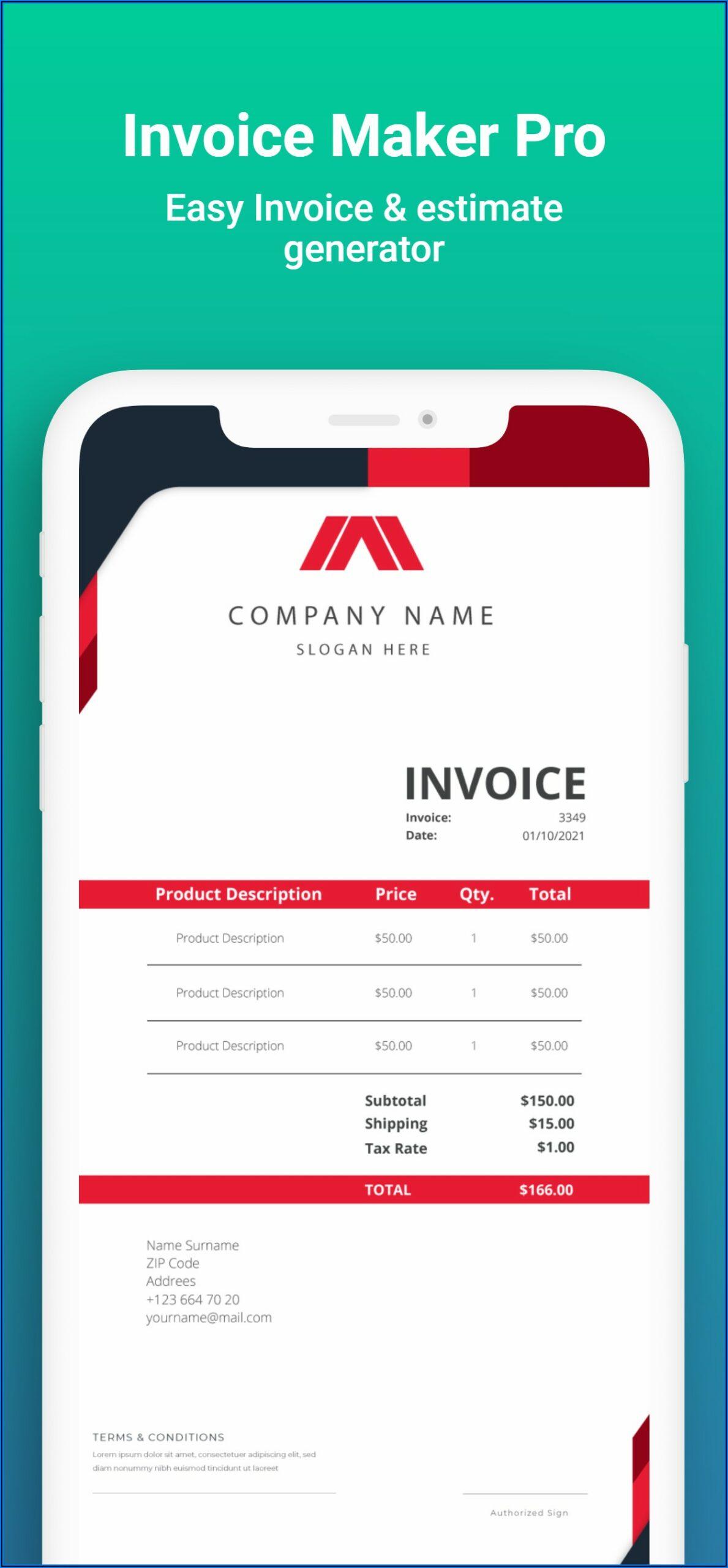 Invoices And Estimates Pro 2.0 Download