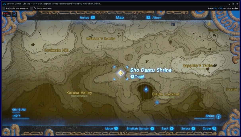 Legend Of Zelda Breath Of The Wild Shrine Locations
