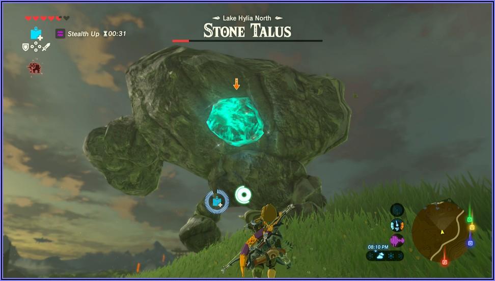 Legend Of Zelda Breath Of The Wild Shrine Map Ign