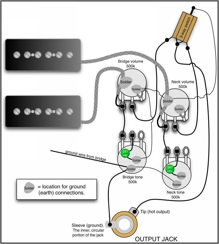 Les Paul Wiring Diagram 50s