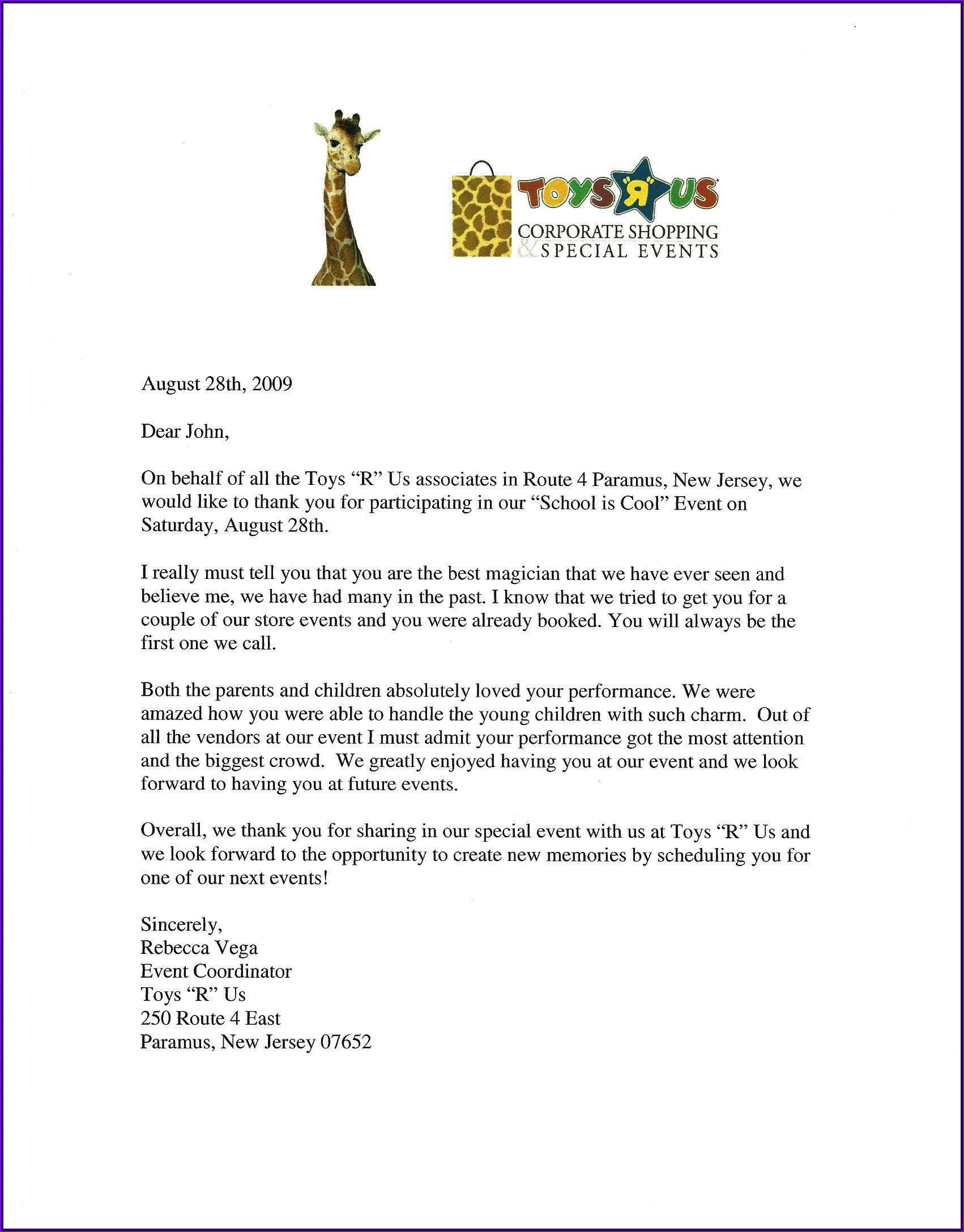 Letter Of Recommendation For Colleague Template