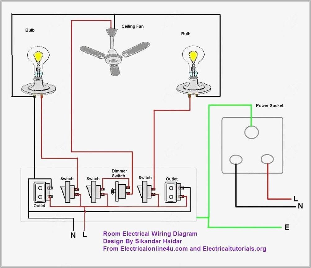 Light Switch Diagram Wiring