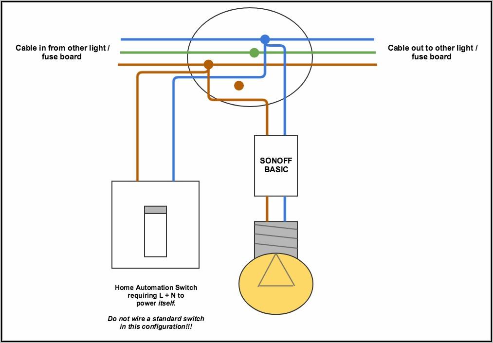 Light Switch Neutral Wire Diagram Uk