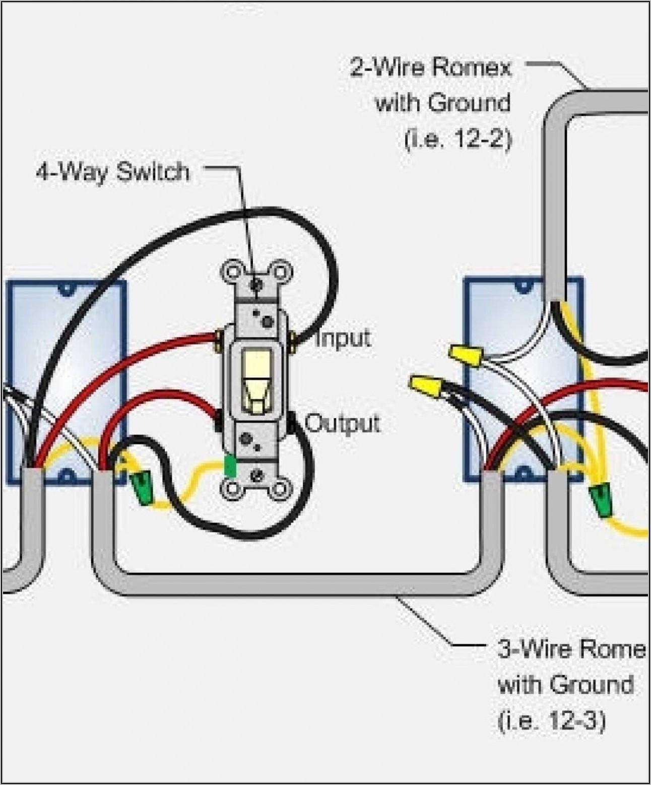 Light Switch Wiring Diagram 1 Way