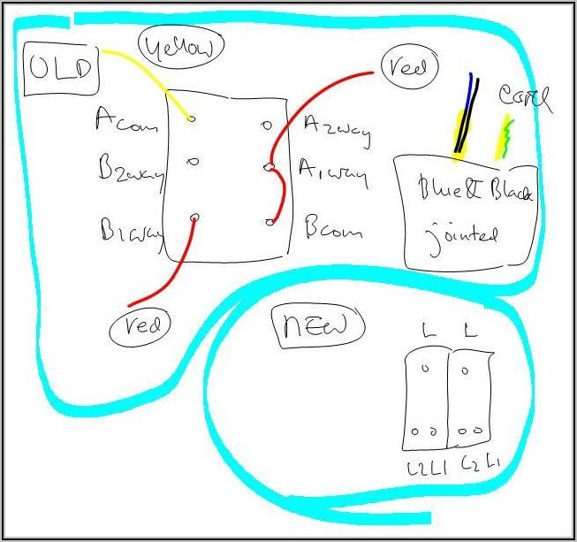Light Switch Wiring Diagram 2 Way