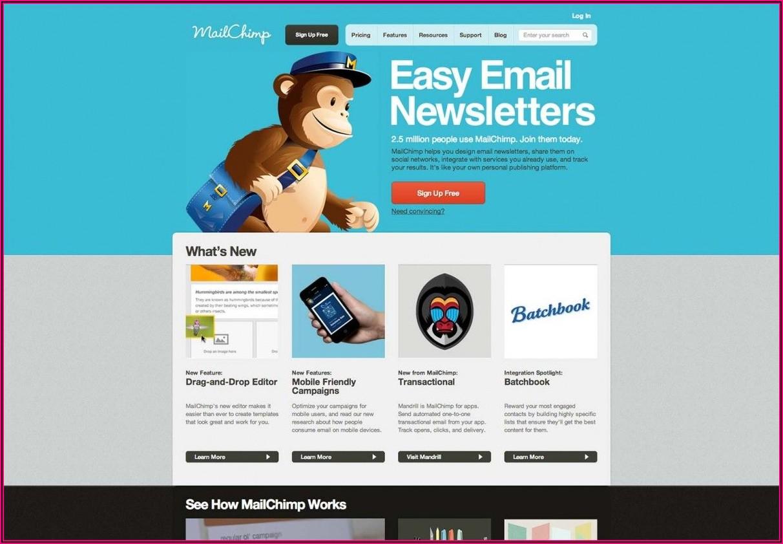 Mailchimp E Newsletter Examples
