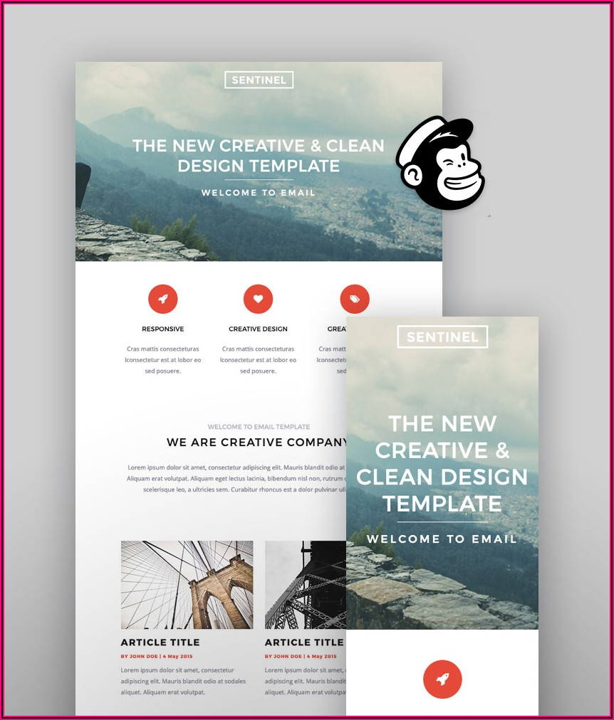 Mailchimp Email Newsletter Examples