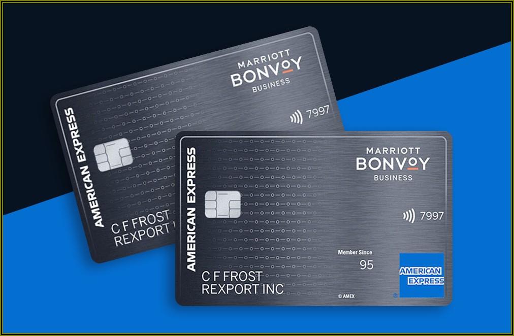Marriott Bonvoy Business Card Benefits