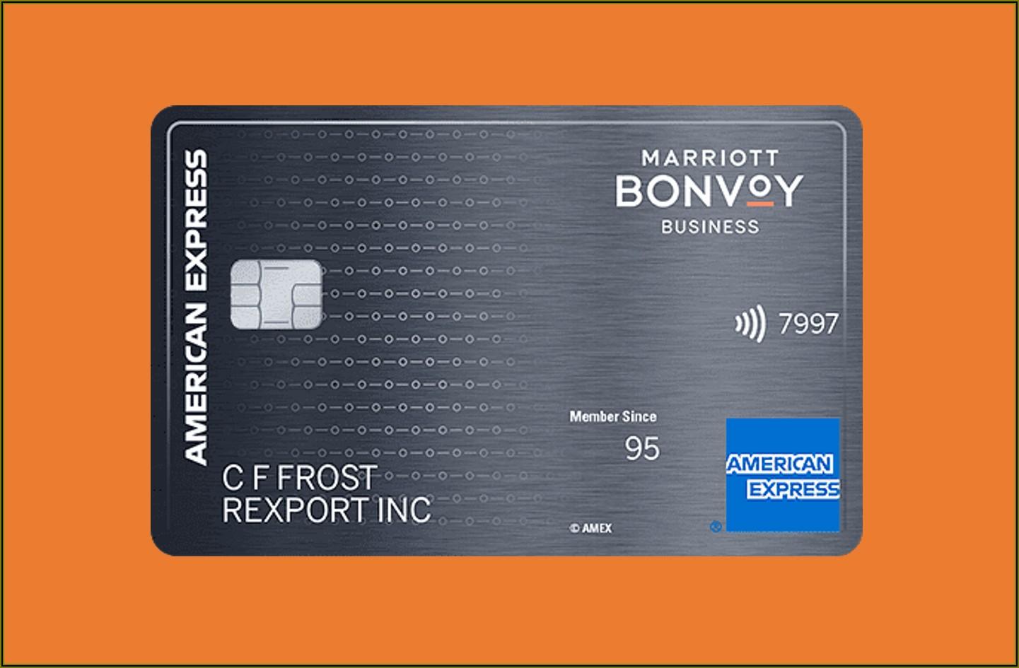 Marriott Business Card Amex