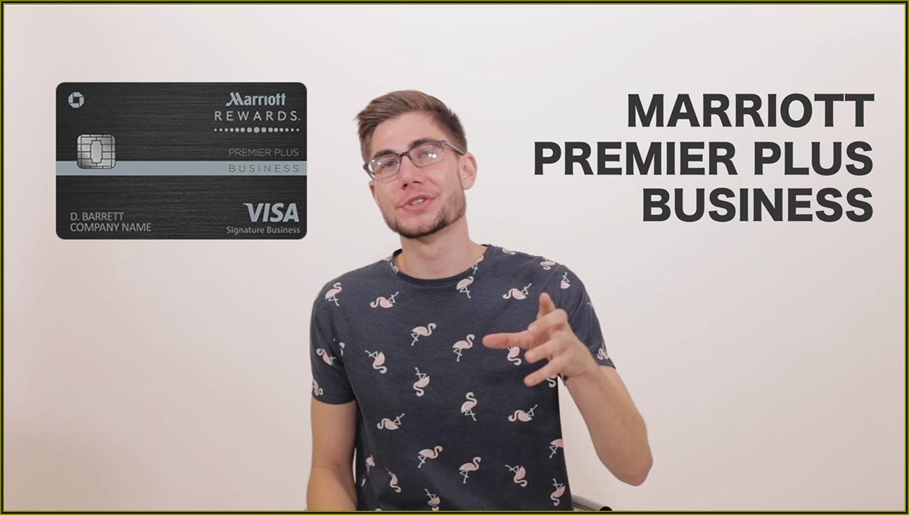 Marriott Rewards Premier Business Credit Card