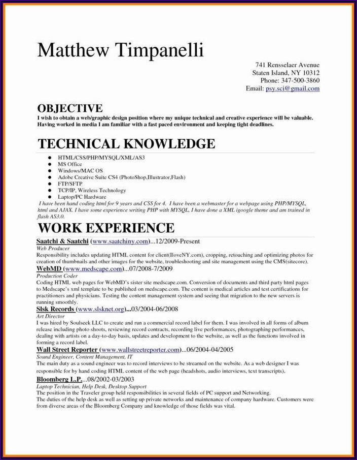 Medical Billing And Coding Specialist Resume Examples