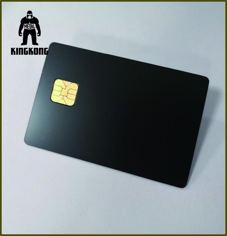 Metallic Ink Business Cards