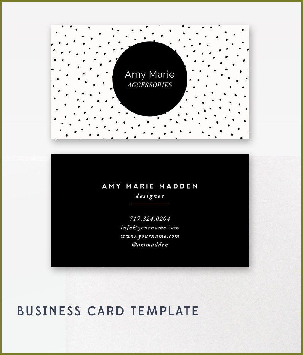 Moo Business Card Template Photoshop