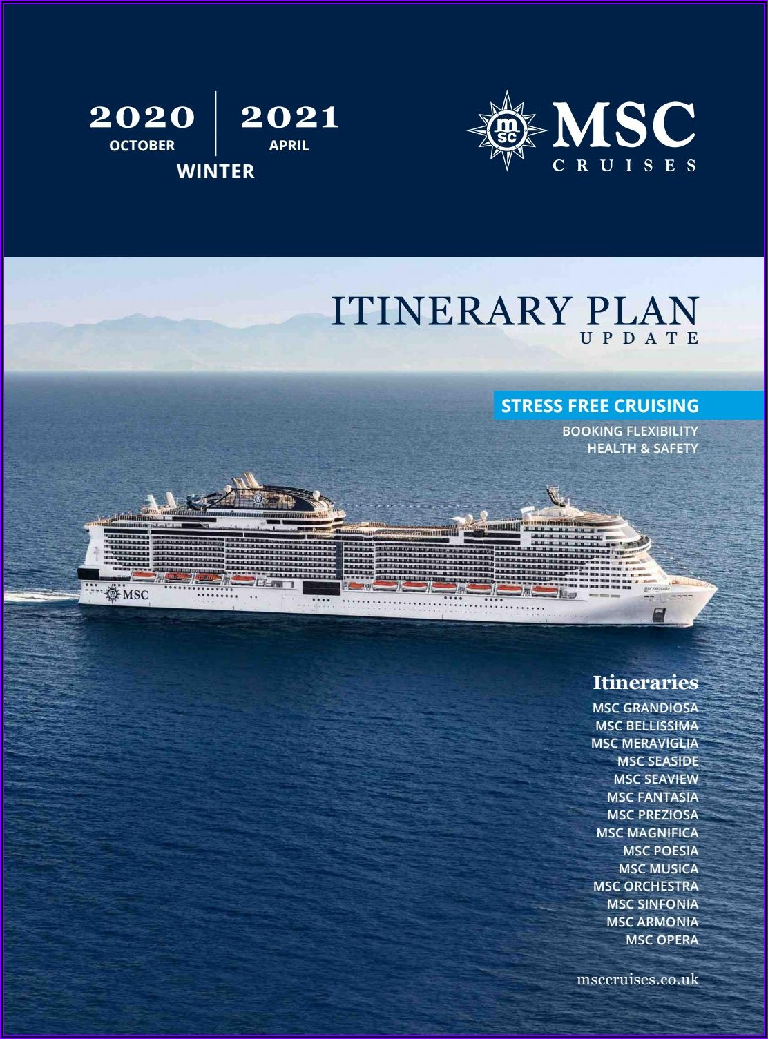 Msc Cruise Brochure Request