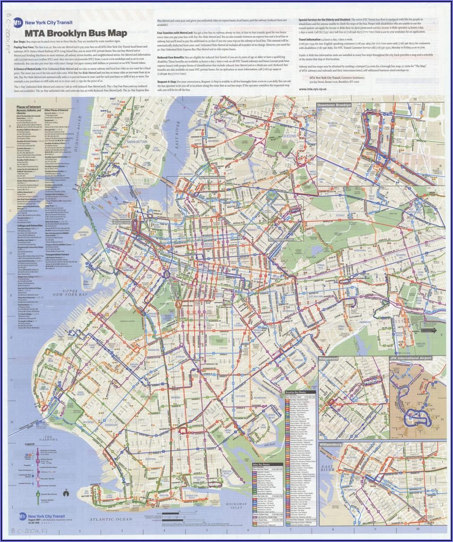 Mta Bus Map Bronx New York