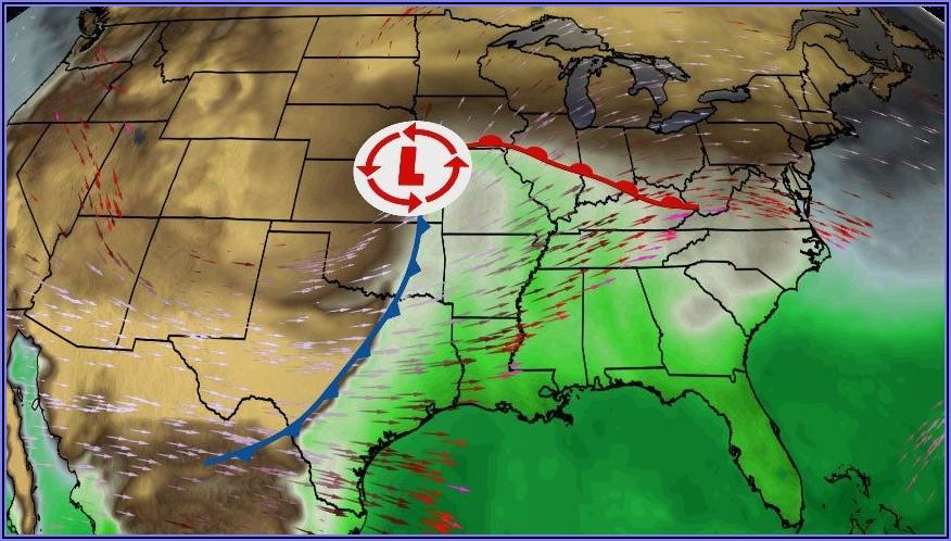 National Radar Map Forecast
