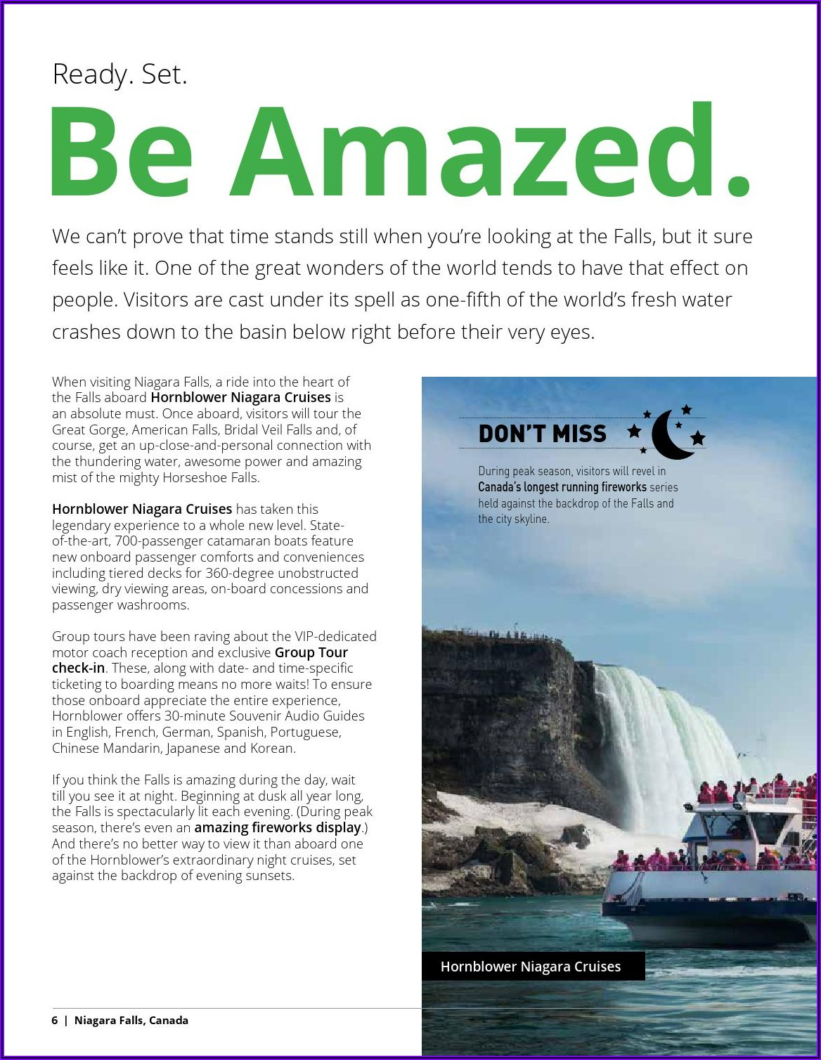 Niagara Falls Tourism Brochure