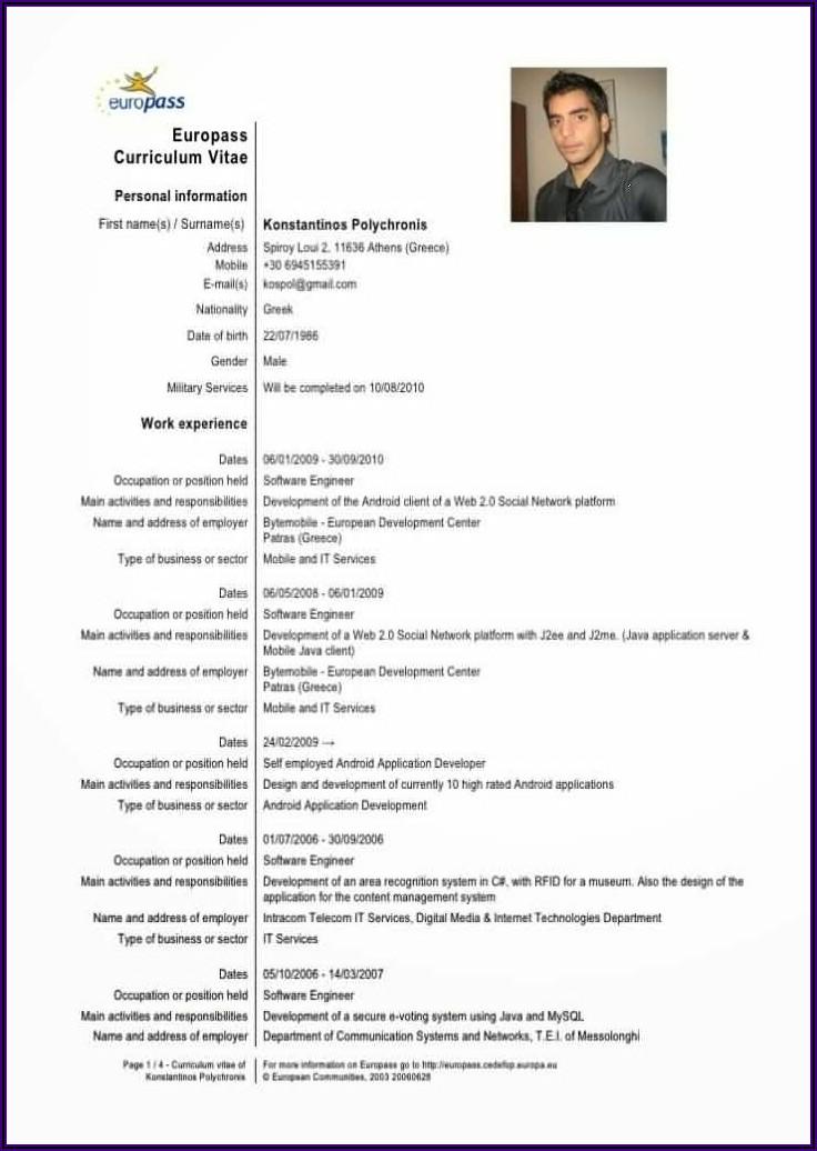 Nurse Cv Sample Doc Free Download