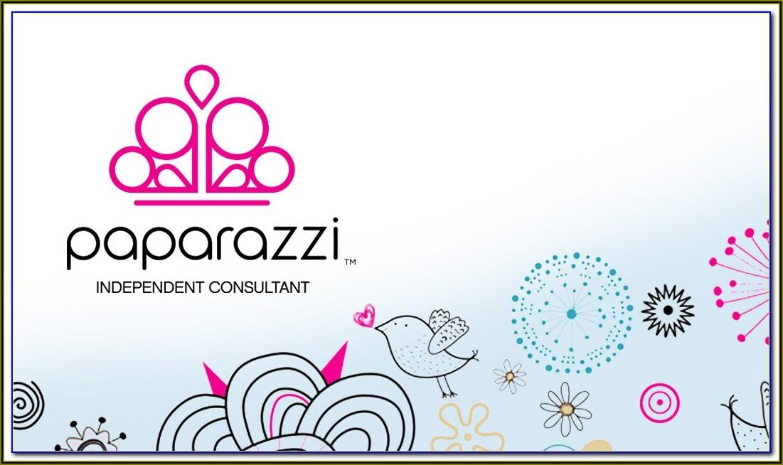 Paparazzi Business Card Templates Free