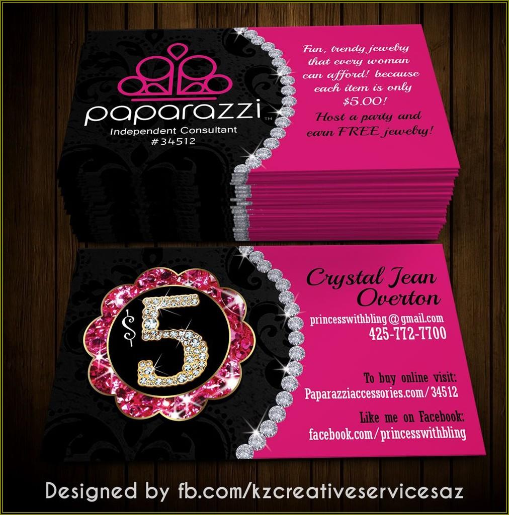 Paparazzi Jewelry Business Card Ideas