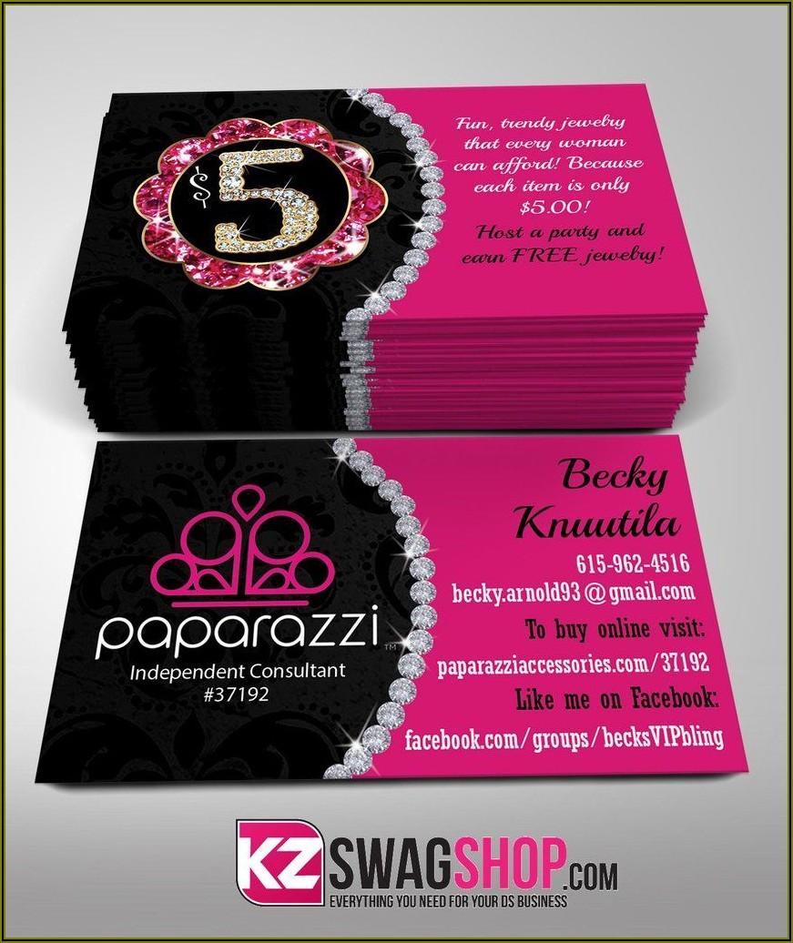 Paparazzi Jewelry Business Cards