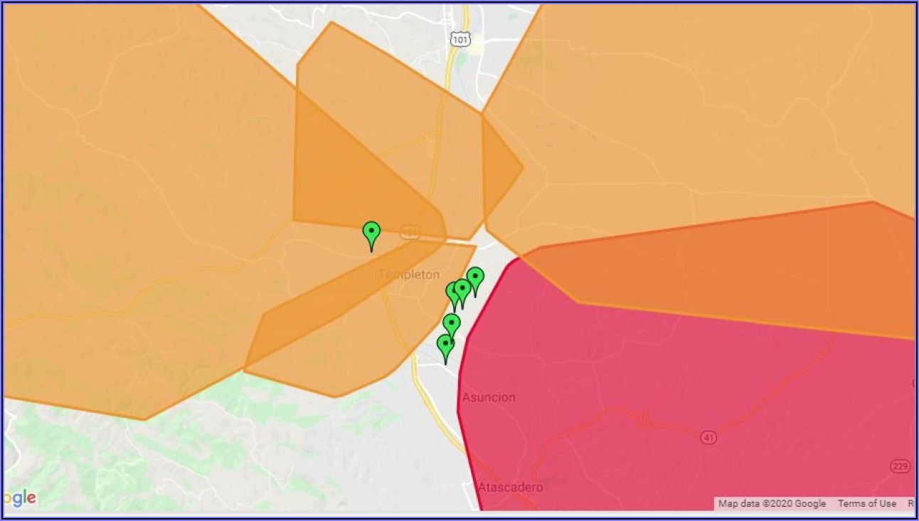 Pge Power Outage Map Northern California