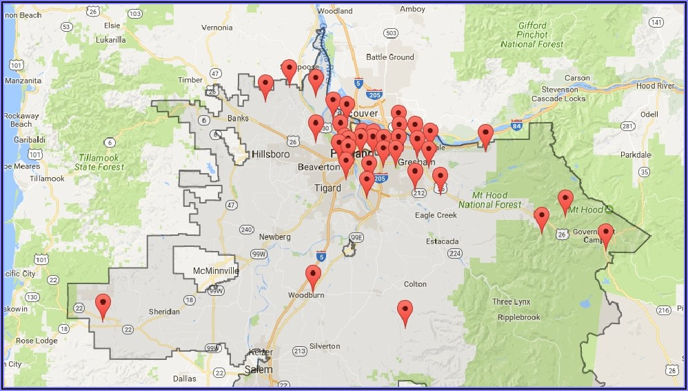 Pge Power Outage Map