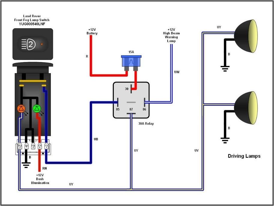 Pico 5 Pin Relay Wiring Diagram