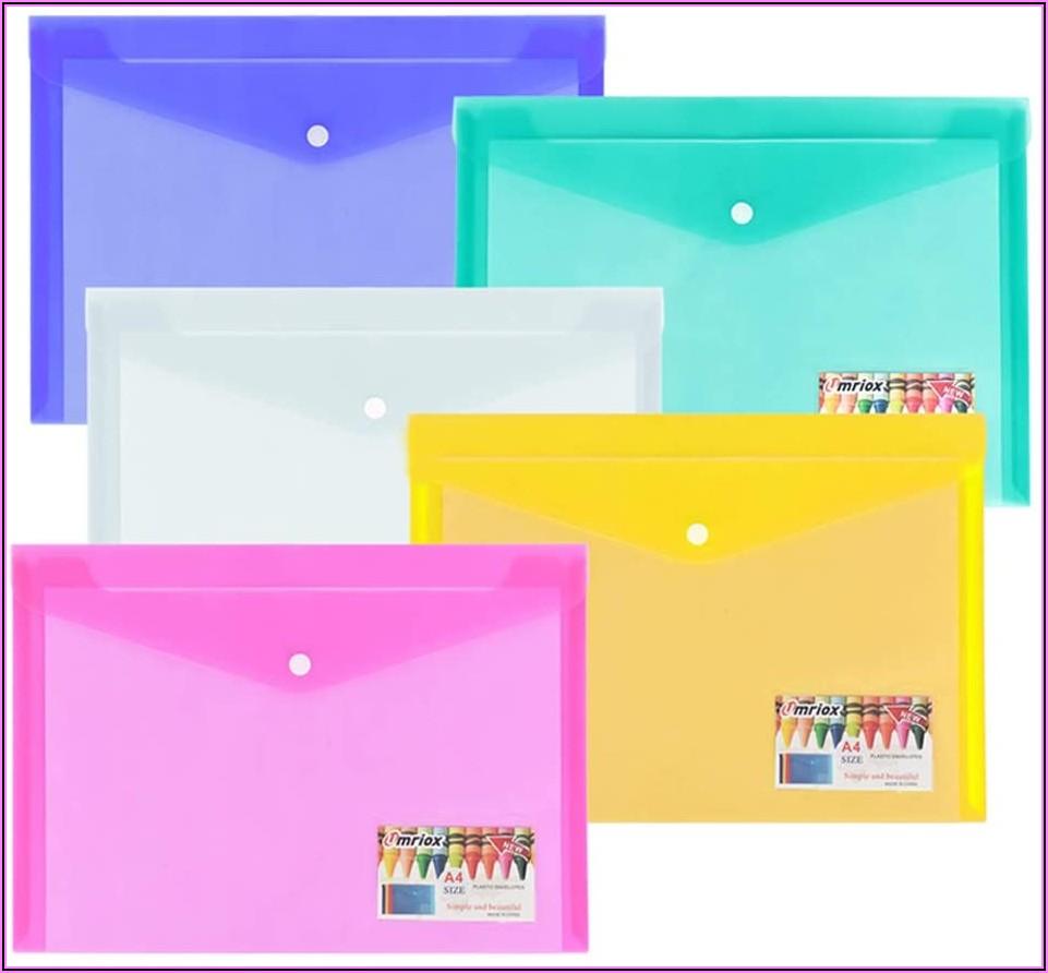 Poly Zip Envelopes Letter Size