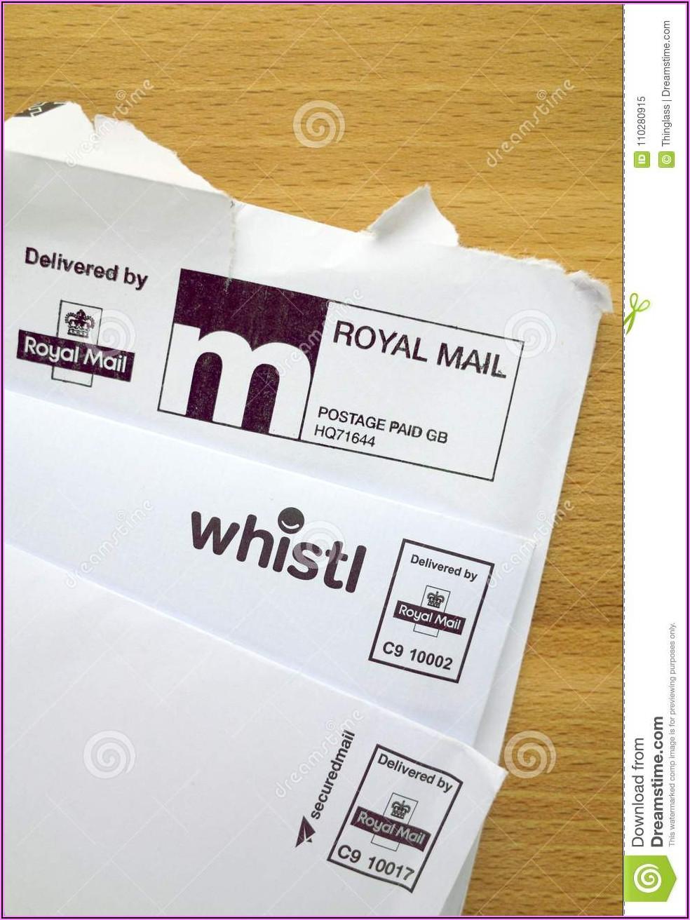 Prepaid Postage Envelopes Uk