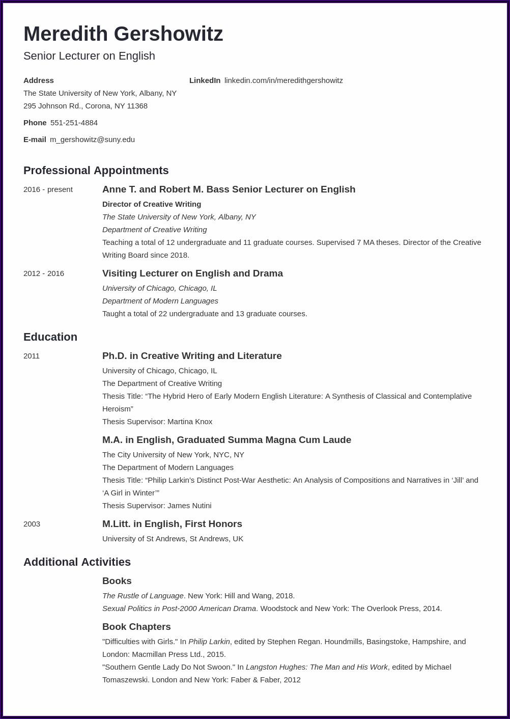 Professional Resume Writers Albany Ny