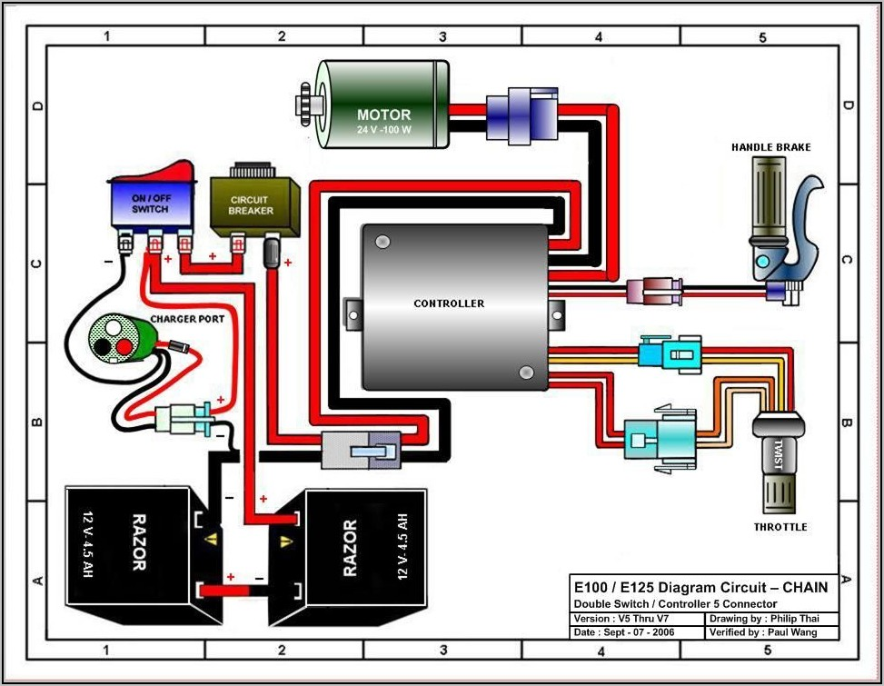 Schematic Electric Toy Car Wiring Diagram