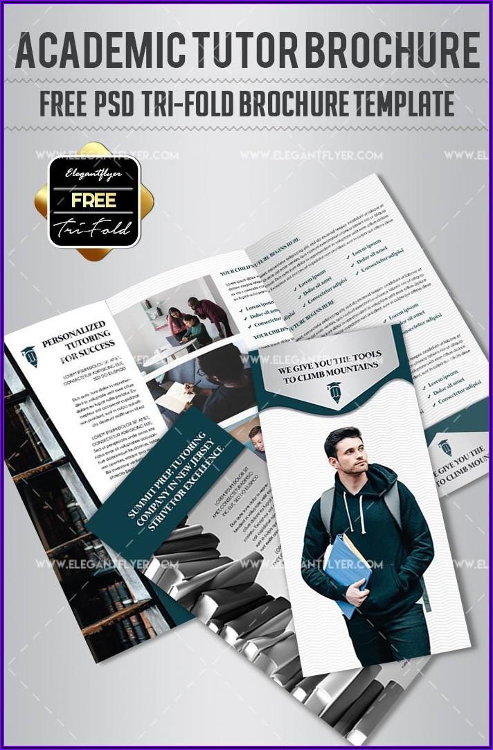School Brochure Flyer Psd Templates Free Download