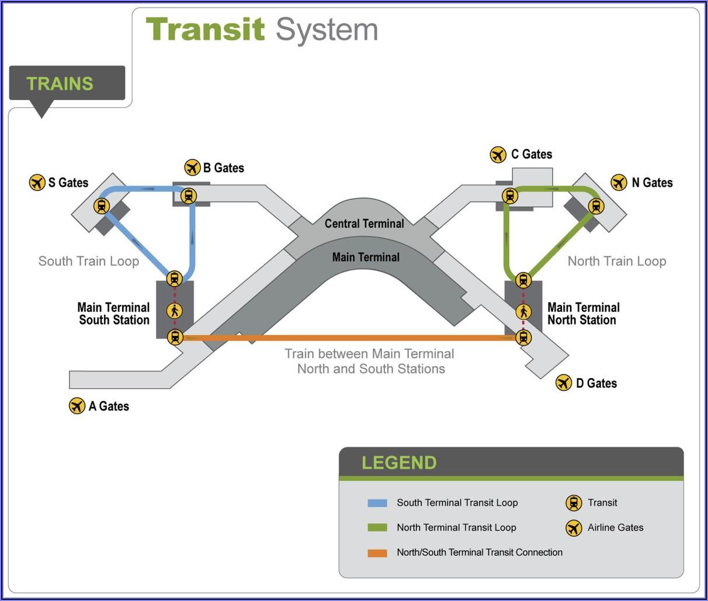 Seatac Airport Map Gates