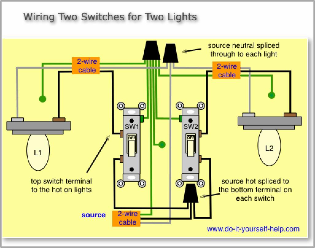 Smart Light Switch Wiring Diagram