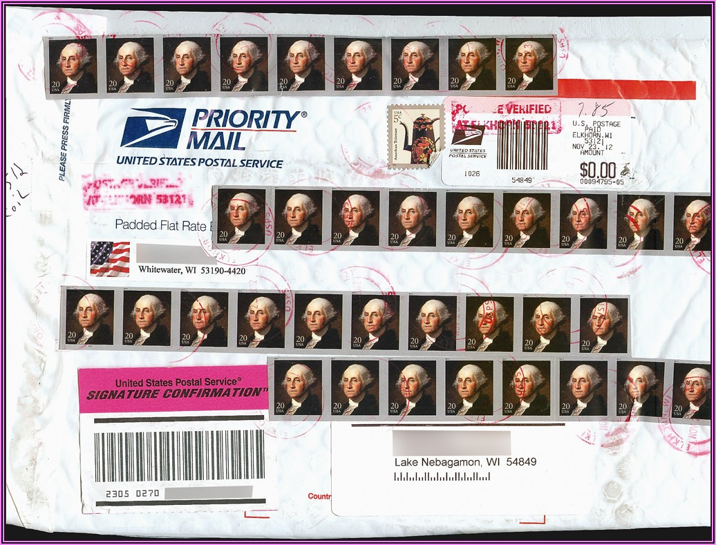Stamps For Flat Rate Envelope