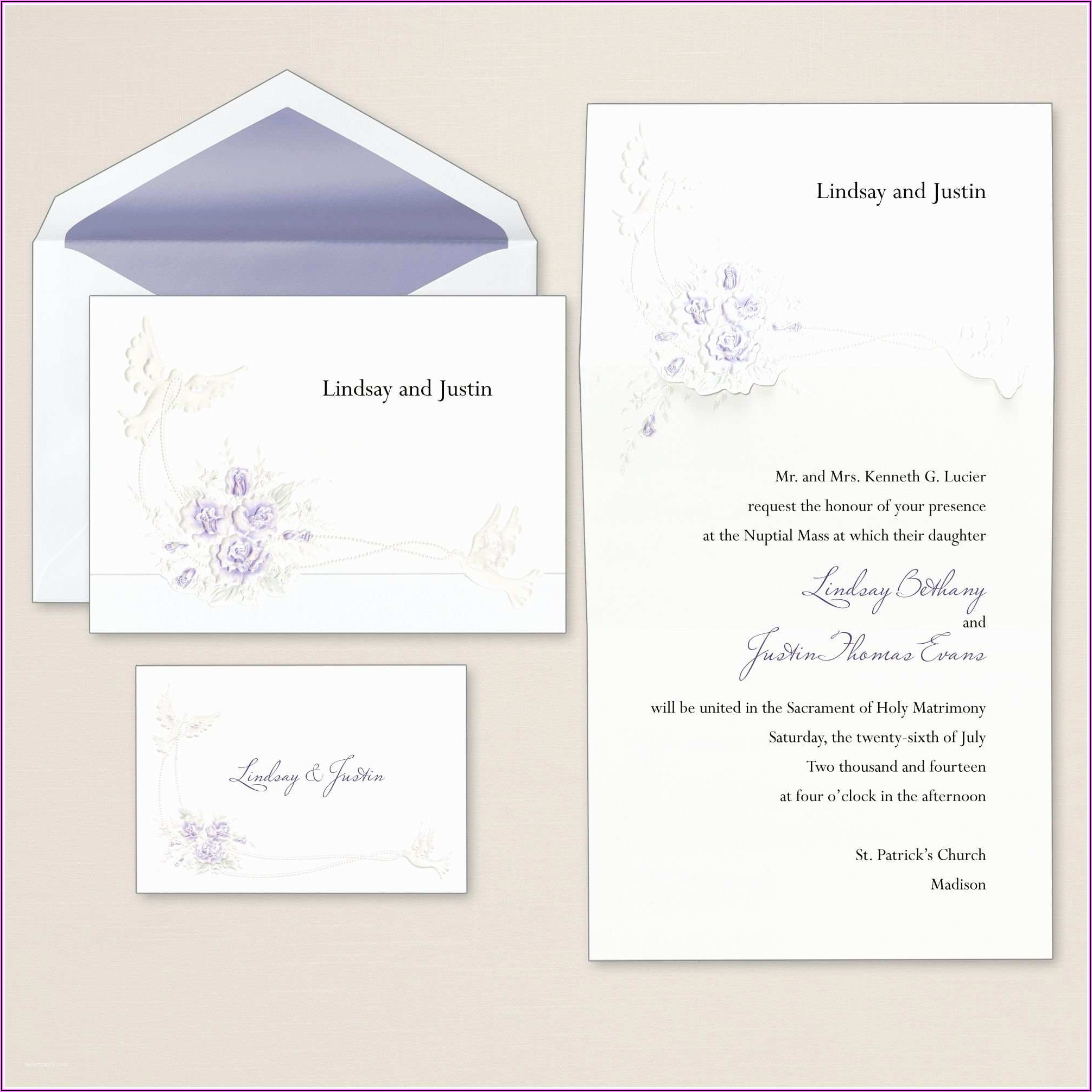 Staples Wedding Invitations Kits