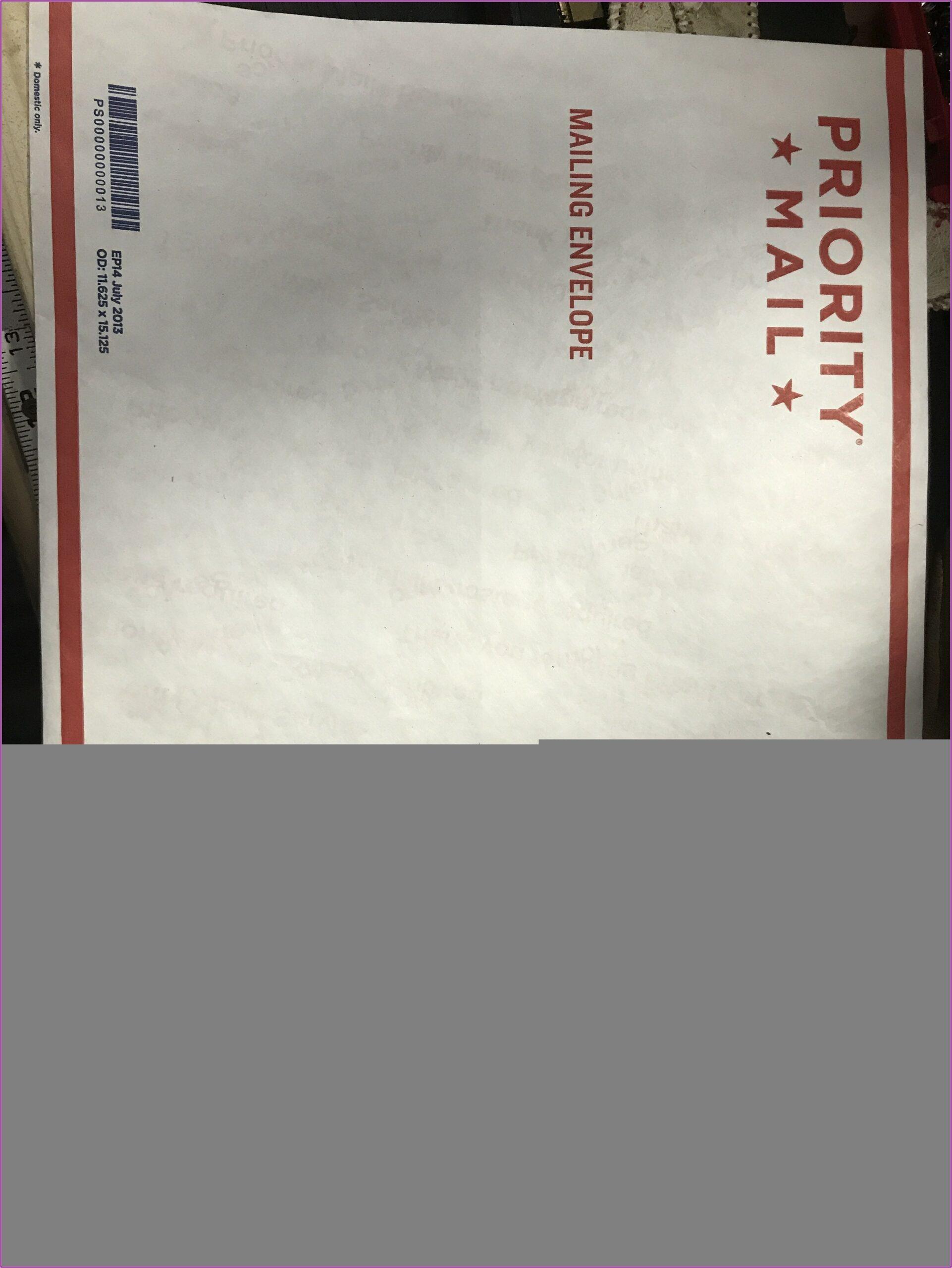 Us Postal Service Padded Envelope Rates