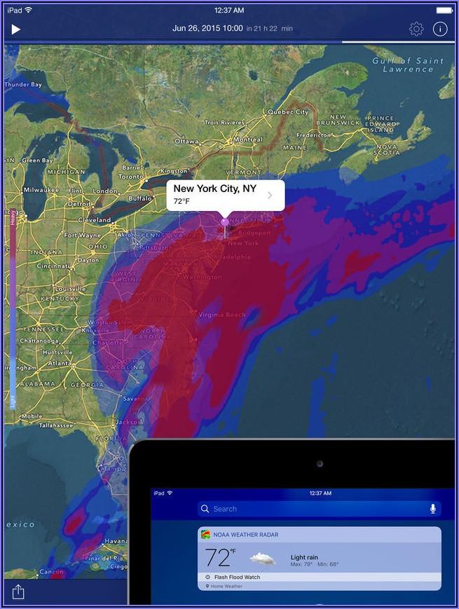 Us Radar Map Noaa